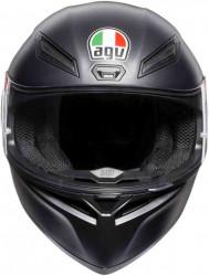 CASCA AGV K-1 MONO BLACK MATTE