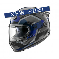 CASCA ARAI QUANTIC 2021 FACE BLUE