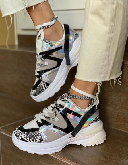 Pantofi sport cod: LA61 White
