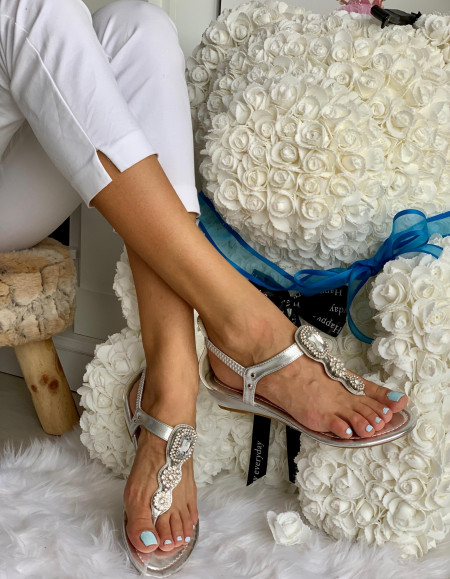 Sandale Cod: Y5518 Silver