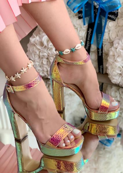 Sandale Dama Cod: YES-3519-7 Gold