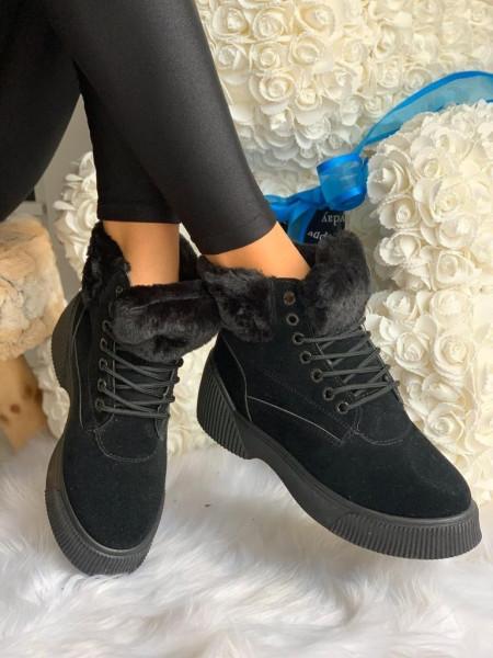 Ghete cod: Eda fashion 11 Black