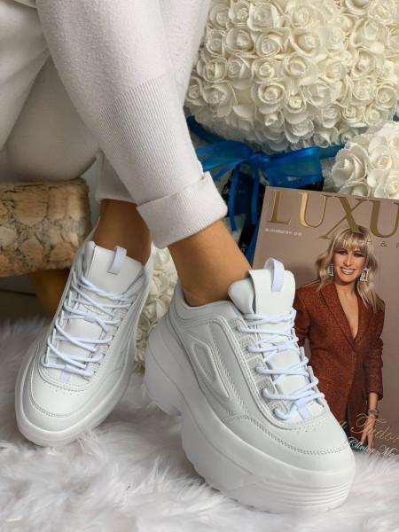 Pantofi cod: AB5658 All White
