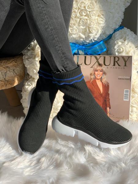 Adidas Gheata Cod: SS 66 Black/blue
