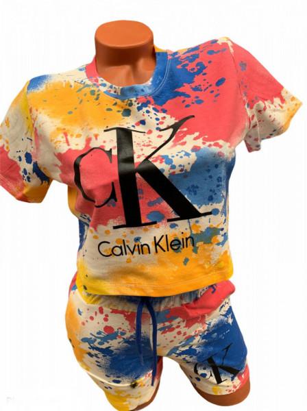 Compleu Dama Cod: CK Blue Orange1