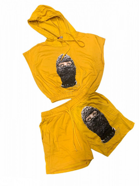 Compleu Dama Cod: Palm 01 Yellow