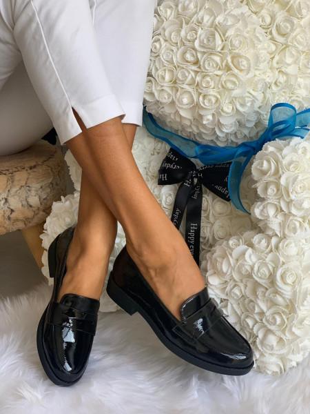 Pantofi cod: CM-3K135-11 Black