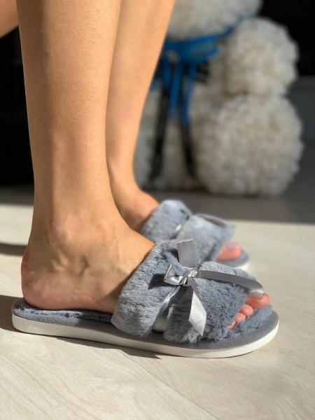 Papuci cod: Fluffy-2 Grey