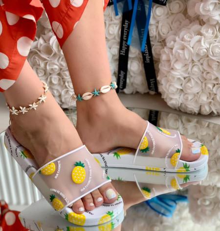 Papuci Dama cod: 001W Pineapple