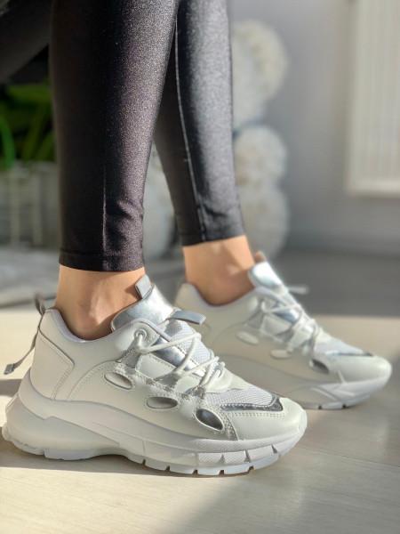 Pantofi Sport Cod: SN-266 White