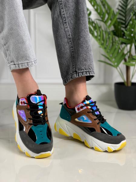 Pantofi sport cod: X-3870 BLACK