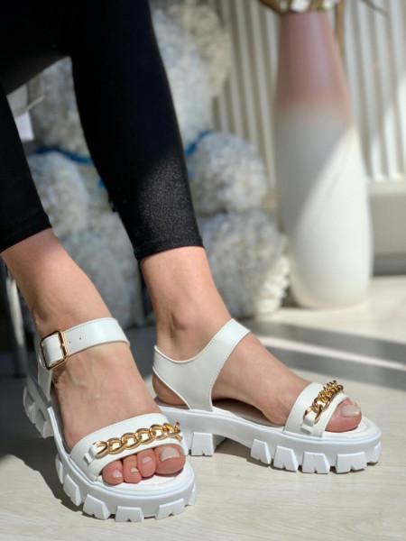 Sandale cod: 1130 WHITE
