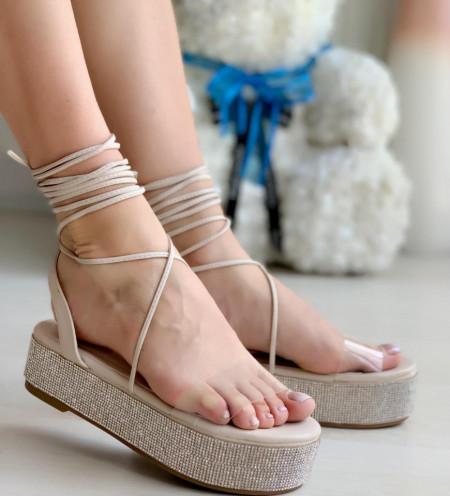 Sandale Dama Cod: INCF2 Nude