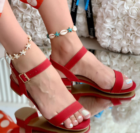 Sandale cod: ABS-010 Red