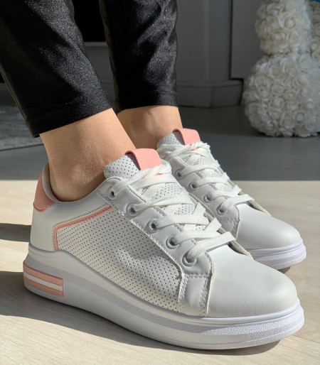 Pantofi Sport Cod: AB5725 White/Pink