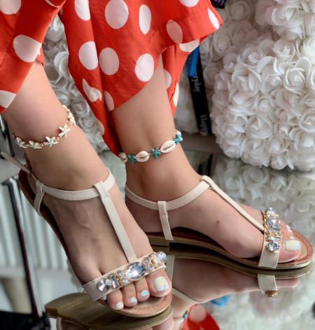 Sandale Dama Cod: 5666 Beige