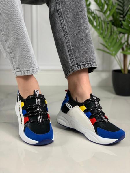 Pantofi sport cod: X-2865 BLACK SAFIR
