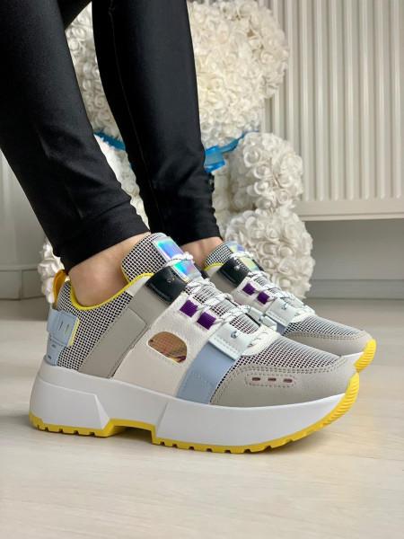 Pantofi Sport Cod: XY4132-2 White