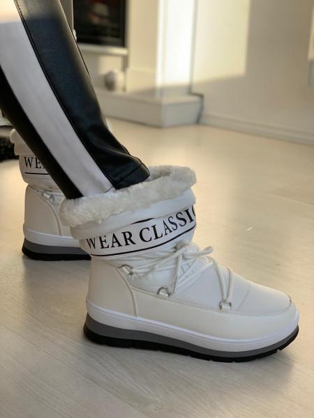 Cizme cod: Eda Classic White