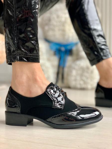 Pantofi Casual Cod: RS3-5M Black