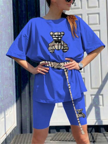 Compleu Dama Cod: 5289 Blue