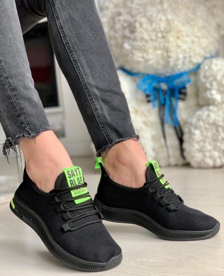 Panto Sport Cod: RLAE 01 Black/Green