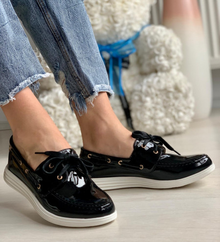 Pantofi Casual Cod: J1418 Black