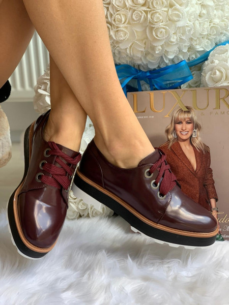 Pantofi cod: MDM191 Wine Red