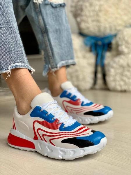 Pantofi Sport Cod: A-0203 Red/Blue