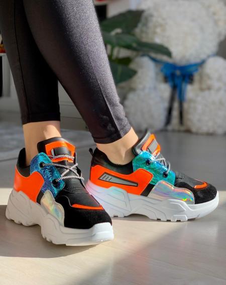 Pantofi sport cod: BK625 Black