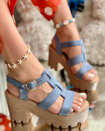 Sandale Dama Cod: 9S0206-1 Blue