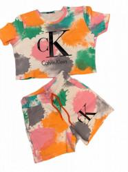 COMPLEU DAMA COD: CK ORANGE/WHITE