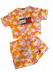 Compleu Dama Cod:TH Orange Pink 63