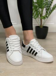 Pantofi Sport Cod: 169 White/Black