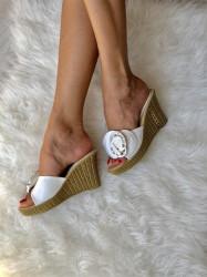 Papuci Cod:0B-6 White