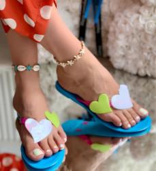 Papuci Dama cod: 009 Blue