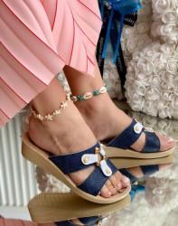 Papuci Dama cod: 011 Blue