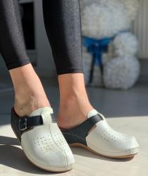 Papuci Dama cod: 112 BLACK/WHITE