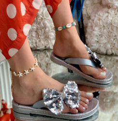 Papuci Dama cod: 9869 Silver