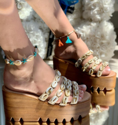 Papuci Dama cod: PH8059-4 Beige