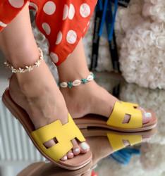 Papuci Dama cod: SS-55 Yellow