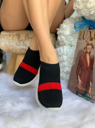Espadrile cod: B005 Red/Black