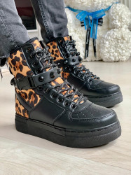Ghete cod: CB-108 Black/Leo