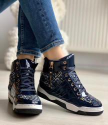 Ghete cod: JD-D72 Blue