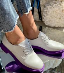 Pantofi cod: A028 White