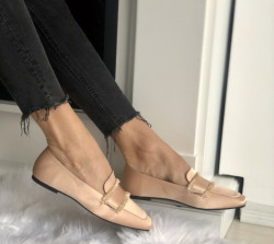 Pantofi Cod: KFL-508 Pink Satin