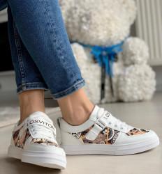 Pantofi sport cod: B52 White/Red