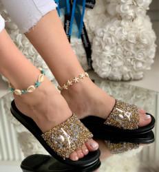 Papuci Dama cod: 01 Prs Gold