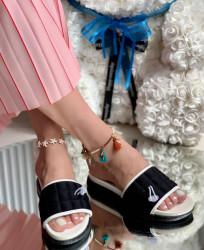 Papuci Dama cod: LT181-3 Black