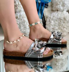Papuci Dama cod: SF-10 Silver